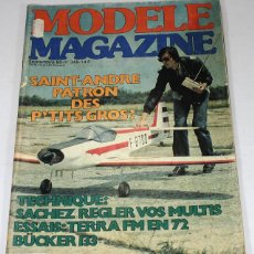 Hobbys: REVISTA DE MODELISMO MODELE MAGAZINE, SEPTIEMBRE 1980, EN FRANCES. Lote 57191402