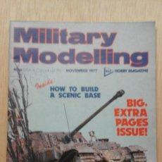 Hobbys: REVISTA DE ** MILITARY MODELLING ** Nº 11 - NOVIEMBRE 1977 USA. Lote 57209104