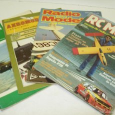Lote revistas RADIO CONTROL y MODELISMO RC MODEL,AEROMODELISMO...