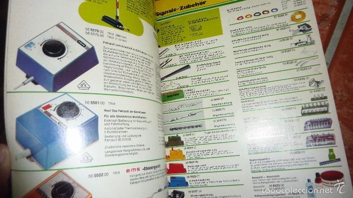 Hobbys: revista catalogo minitrix trenes a escala . aleman 1974 - 75 35 pág - Foto 3 - 57418032