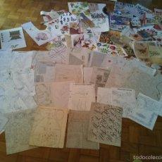 Hobbys: GRAN LOTE DE PLIEGOS DE PATRONES DE REVISTAS ITALIANAS(MAS REGALO). Lote 57714109