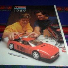 Hobbys: CATÁLOGO MAQUETAS MONOGRAM 1989 EN INGLÉS. RARO EN MUY BUEN ESTADO.. Lote 57886830