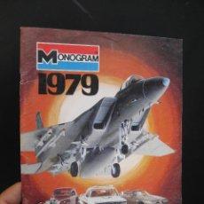 Hobbys: CATALOGO REVISTA MAQUETAS MONOGRAM 1979. Lote 58228575