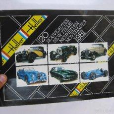Hobbys: CATALOGO HELLER 1981 MAQUETAS. Lote 58228648
