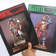 Hobbys: REVISTA MAQUETA 1 Y 3 BUEN ESTADO FIGURAS TRENES ETC . Lote 58228696