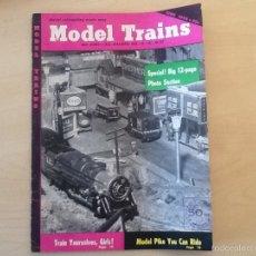 Hobbys: REVISTA MODEL TRAINS JUNE 1955. Lote 58682806