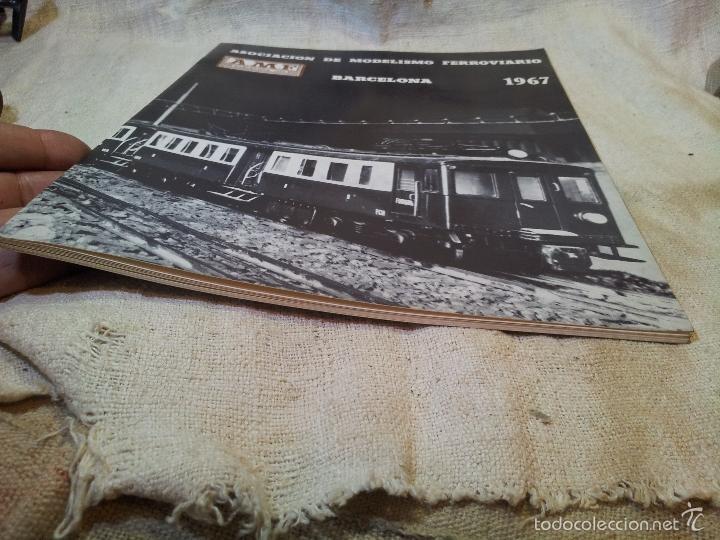 Hobbys: LIBRO LIBRETO AMF ASOCIACION DE MODELISMO FERROVIARIO BARCELONA 1967 - Foto 11 - 59174965