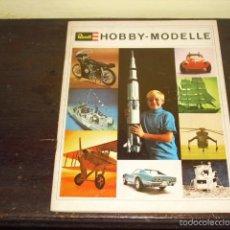 Hobbys: CATÁLOGO HOBBY - MODELLE - REVELL - AÑO 1969 -. Lote 59591179