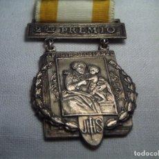 Hobbys: PRECIOSA MEDALLA DE PREMIO AL MÉRITO. 1968-69. PLATEADA.. Lote 62417536
