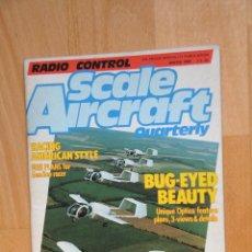 Hobbys: REVISTA RADIO CONTROL SCALE AIRCRAFT, CON PLANOS DEL AVIÓN GEE BEE PARA R/C. 1988. TEXTO EN INGLÉS. Lote 62610288