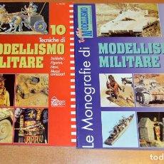 Hobbys: LOTE DE DOS MONOGRAFÍAS DE MODELISMO (FIGURAS, VEHÍCULOS) Y TÉCNICAS (EN ITALIANO, OCASIÓN). Lote 65751654