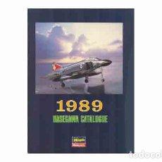 Hobbys: CATALOGO OFICIAL MARCA HASEGAWA DE 1989. Lote 65753086