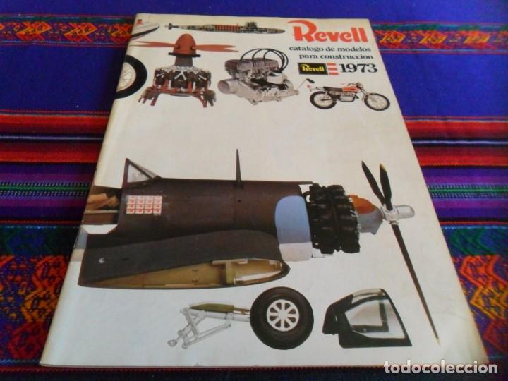 REVELL CATÁLOGO DE MODELO PARA CONSTRUCCIÓN 1973. MAQUETAS. BUEN ESTADO. (Juguetes - Modelismo y Radiocontrol - Revistas)