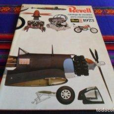 Hobbys: REVELL CATÁLOGO DE MODELO PARA CONSTRUCCIÓN 1973. MAQUETAS. BUEN ESTADO.. Lote 66231482
