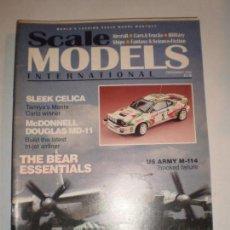 REVISTA SCALE MODELS DICIEMBRE 1993