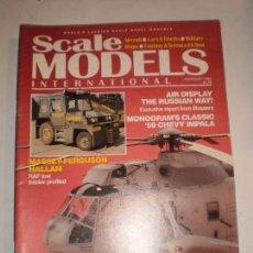 REVISTA SCALE MODELS FEBRERO 1994