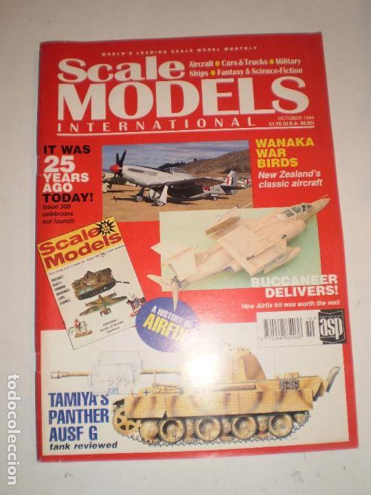 REVISTA SCALE MODELS OCTUBRE 1994 (Juguetes - Modelismo y Radiocontrol - Revistas)