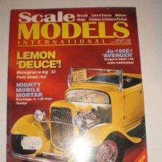 REVISTA SCALE MODELS ENERO 1995
