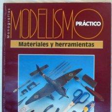 Hobbys: MATERIALES Y HERRAMIENTAS - MONOGRAFÍAS MODELISMO PRÁCTICO - VER INDICE. Lote 68648657