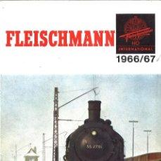 Hobbys: CATALOGO FLEISCHMANN 1966 MODELISMO FERROVIARIO. Lote 68749385