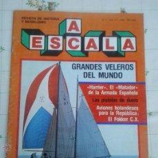 Hobbys: A ESCALA. REVISTA DE HISTORIA Y MODELISMO. Lote 52413612