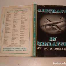 Hobbys: W. O. DOYLEND. AIRCRAFT IN MINIATURE. RMT77927. . Lote 69737977