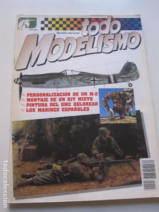 TODO MODELISMO - Nº 3 M-2 MODELISMO C78 (Juguetes - Modelismo y Radiocontrol - Revistas)