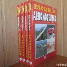 Hobbys: ESCUELA DE AEROMODELISMO Y RADIOCONTROL. LOS 4 TOMOS . EDITORIAL MULTIPRESS. Lote 71470811
