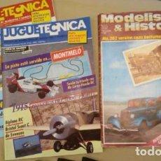 Hobbys: LOTE REVISTAS MODELISMO SLOT, SCALEXTRIC Y MAQUETAS.. Lote 72100971