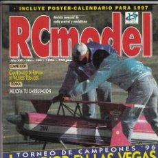 Hobbys: REVISTA RC MODEL Nº 190 AÑO 1997. COMPARATIVA: LOSI XXCR Y ASSOCIATED RC10 B2. NO INCLUYE POSTER.. Lote 74965659