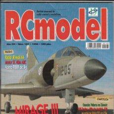Hobbys: REVISTA RC MODEL Nº 185 AÑO 1996. PRU:RADIO JR MAX 44.MOTOR SC 40M ABC.VELERO RISER SIG.HFTAG 1/8TT.. Lote 74966687
