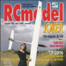 Hobbys: REVISTA RC MODEL Nº 184 AÑO 1996. PRUEBA: TRAXXAS TRX-3. SVM. CRONO EUROPA.. Lote 74966795
