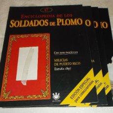 Hobbys: 14 FASCICULOS ENCICLOPEDIA DE LOS SOLDADOS DE PLOMO DEL Nº 31 AL 45. Lote 75136843