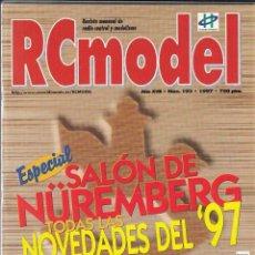 Hobbys: REVISTA RC MODEL Nº 193 AÑO 1997. PRU: MIRAGE THUNDER TIGER. TELEC EUROKIT. MOTOR WEBRA 120 RACING.. Lote 234650570