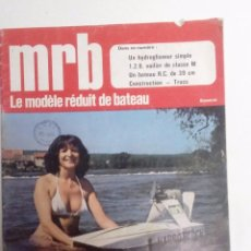 Hobbys: LE MODÉLE RÉDUIT DE BATEAU MRB Nº 203 (1978). Lote 75717463