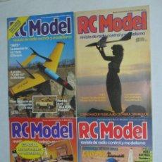 Hobbys: REVISTA RC MODEL 4 NÚMEROS : Nº 24 CON PLANO AVIÓN -Nº 33-38 Y 97. CON 74 PÁGINAS CADA UNA.. Lote 75847627