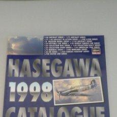 Hobbys: HASEGAWA 1998 CATALOGUE-80 PAG-JAPONES -INGLES-. Lote 75867799