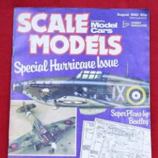 Hobbys: REVISTA MODELISMO SCALE MODEL AGOSTO 1980. Lote 78363321