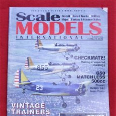 Hobbys: REVISTA MODELISMO SCALE MODEL AGOSTO 1994. Lote 78426113