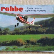 Hobbys: CATALOGO RC RADIOCONTROL ROBBE AÑOS 80. Lote 81270956