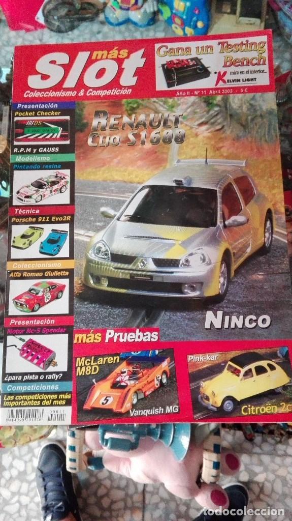 LOTE 51 REVISTAS MAS SLOT (Juguetes - Modelismo y Radiocontrol - Revistas)
