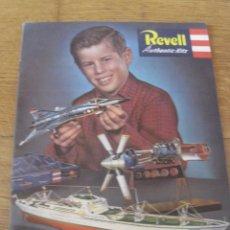 Hobbys: CATALOGO REVELL 1960. Lote 85254912