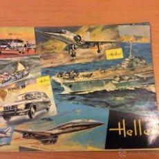 Hobbys: HELLER CATALOGO 1965 FRANCES CONCORDE. Lote 46323266