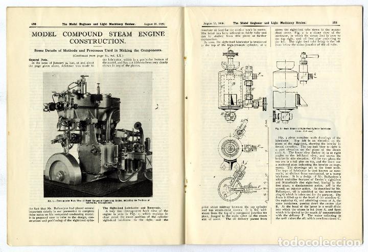 Hobbys: MODEL ENGINEER - REVISTA VOL 61 Nº 1475 AGOSTO 1929 - Foto 3 - 93237270