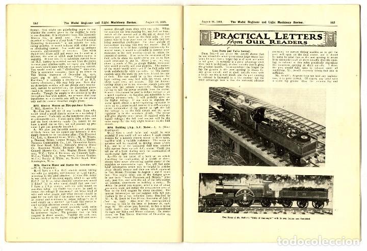 Hobbys: MODEL ENGINEER - REVISTA VOL 61 Nº 1475 AGOSTO 1929 - Foto 5 - 93237270