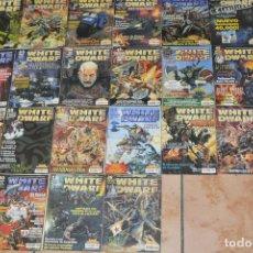 Hobbys: COLECCIÓN WHITE DWARF AÑOS 90 Y 2000 22 NUMEROS BUEN ESTADO. LOTE GAMES WOKSHOP WARHAMMER. Lote 93848560