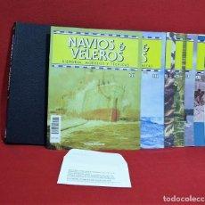 Hobbys: NAVIOS & VELEROS Nº 31 AL 45, INCLUYE TAPAS.. Lote 94656583