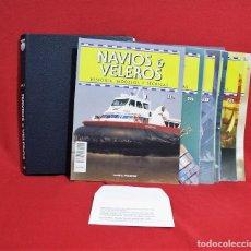 Hobbys: NAVIOS & VELEROS Nº 46 AL 63, INCLUYE TAPAS. . Lote 94657355
