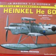 Hobbys: PERFILES AERONAÚTICOS. Nº 1 HEINKEL HE-60. Lote 95700423