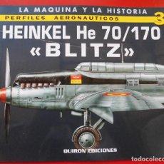 Hobbys: PERFILES AERONAÚTICOS. Nº 3 HEINKEL HE-70/170 BLITZ. Lote 95700631